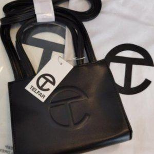 Telfar Small Black Shopping Bag